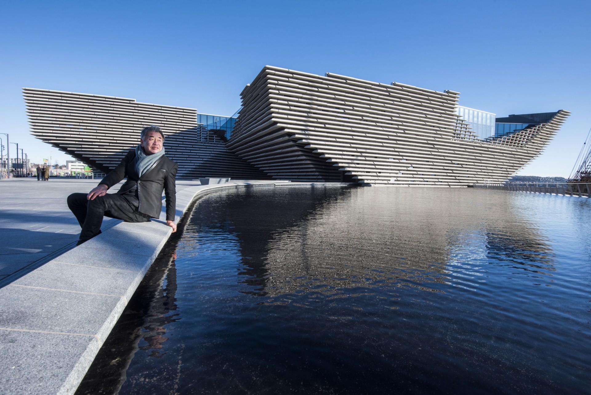 Kengo Kuma V&A Dundee Escocia