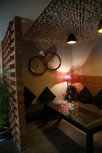 Shahriar Alam Flavour's café Rajshahi Bangladés