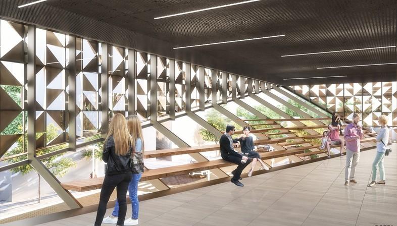 Stefano Boeri Architetti primer proyecto en Tirana Cubo de Blloku