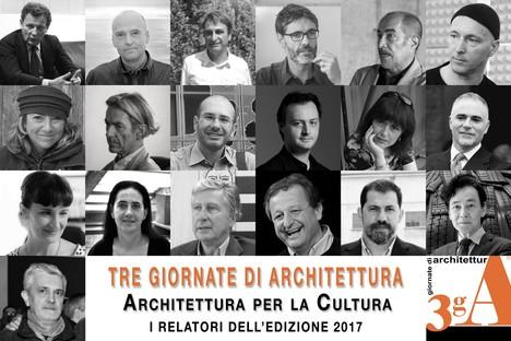 Arquitectura para la Cultura, Tres jornadas de Arquitectura en Pistoya