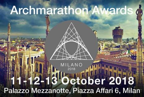 ARCHMARATHON Awards 2018 en Milán