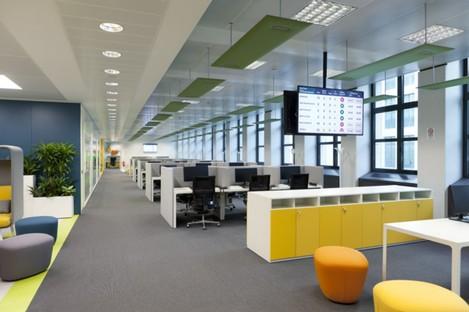 Progetto CMR - Massimo Roj Architects oficinas contemporáneas en Milán