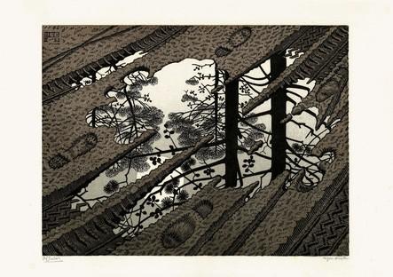 Exposición Escher en el PAN Palazzo delle Arti Napoli