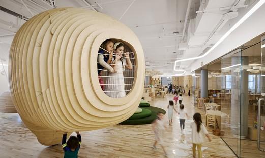 Arquitectura para la infancia la primera escuela WeGrow de BIG