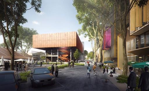 El nuevo polo financiero y comercial de Shanghái proyectado por Ennead Architects