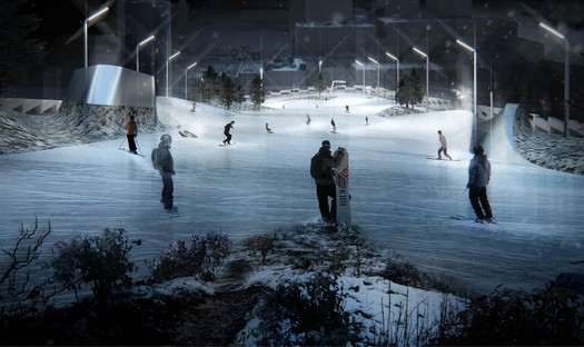 En Copenhague, la planta de transformación de residuos en energía del futuro, un proyecto de BIG