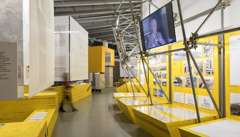 exposiciones Arquitectura Reconstrucción y Patrimonio Construido en la Trienal de Milán