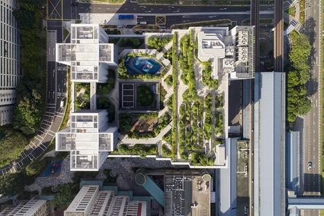 World Building of the Year Award 2018 para Kampung Admiralty de WOHA