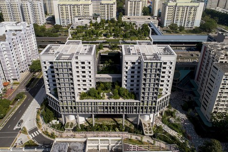 World Building of the Year Award 2018 para Kampung Admiralty de WOHA