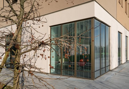 Estudio FTA Filippo Taidelli residencia de estudiantes del Campus Humanitas University Milán