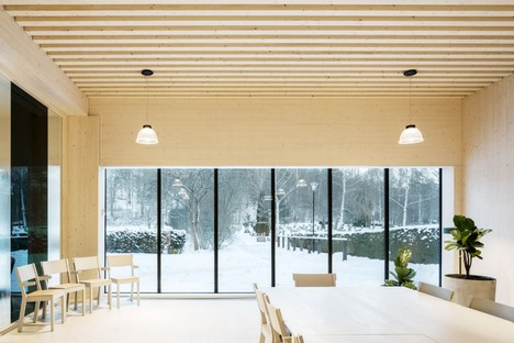 Wingårdh Arkitektkontor ampliación Sundbyberg Cemetery Pavilion