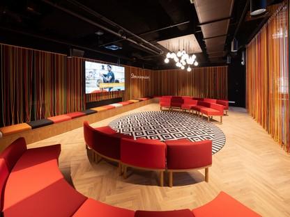 Mecanoo interiorismo de la LocHal Library en Tilburg