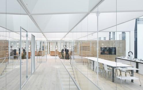 Completado el Swarovski Manufaktur, el Taller de Cristal, proyectado por Snøhetta