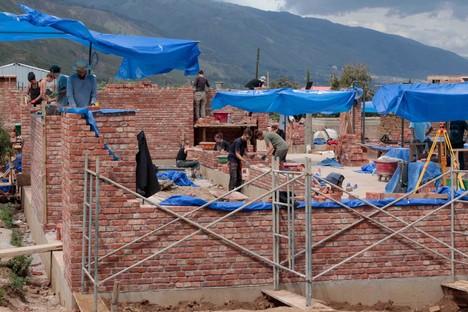 CODE y Ralf Pasel Internado Campus de Agronomía Bella Vista Bolivia