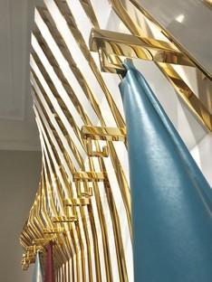 Aquilialberg Architects showroom y nueva imagen planta de producción de Conceria Superior