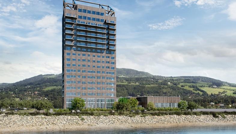 Mjøstårnet el mayor rascacielos de madera del mundo