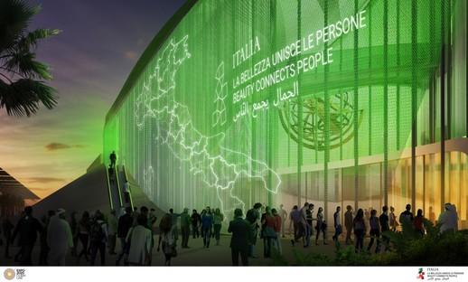 Pabellón Italia La Bellezza della Creatività Expo 2020 Dubái