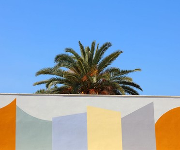 David Tremlett Wall Surfaces entre arquitectura y arte púbico en Bari