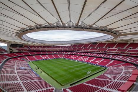 Un nuevo reportaje fotográfico para el estadio del Atlético de Madrid