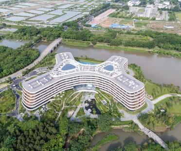 3LHD diseña el Hotel LN Garden, en Nansha, China