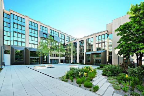 Oliv Architekten, nueva vida para las oficinas Peak, en Múnich