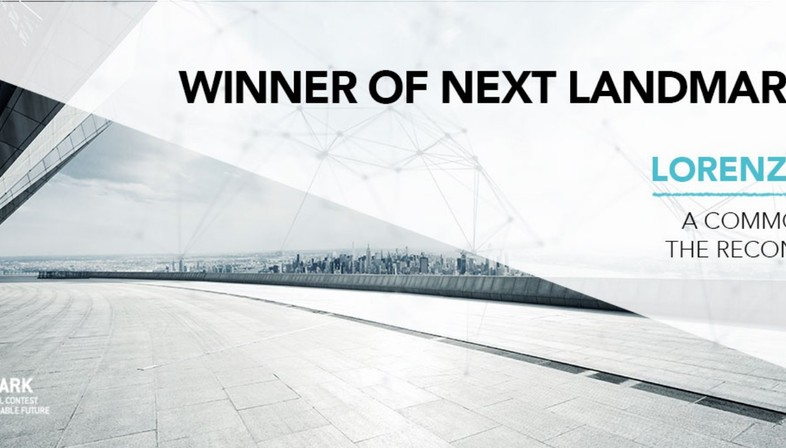 A Common Line For The Reconstruction, de Lorenzo Abate, gana el Next Landmark 2019