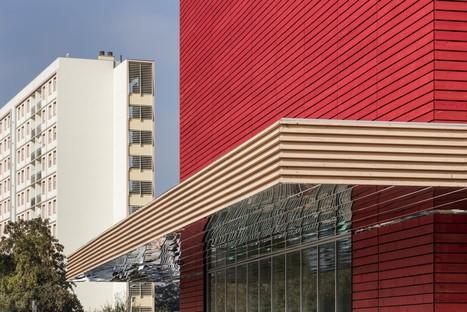 Ropa & Associés Architectes centro cultural Agora Metz