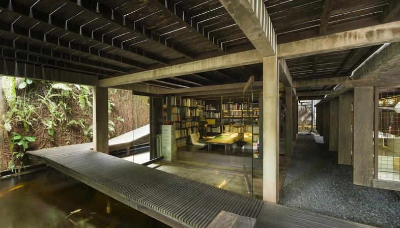 Arquitectura en Indonesia: una microbiblioteca y una vivienda
