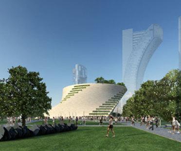 Museo de Arte Moderno de Milán.<br /> Proyecto de Libeskind, sin procedimiento de concurso