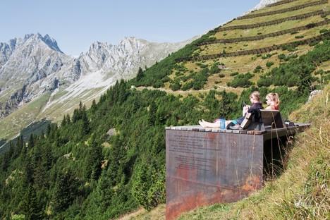 Snøhetta proyecta El camino de las perspectivas en la Nordkette de Innsbruck