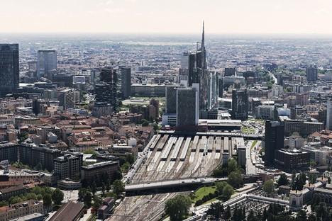 Adiós a César Pelli, el arquitecto que rediseñó el skyline de Milán