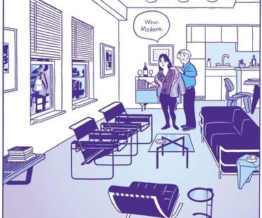 exposición Living in a Box: Design and Comics Vitra Schaudepot