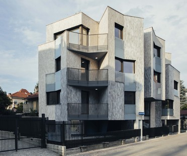 ElasticoSPA-Stefano Pujatti: edificio residencial Via Piave Mormorava en Cirié