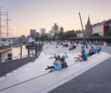 Zaha Hadid Architects, Niederhafen River Promenade, Hamburgo<br />
