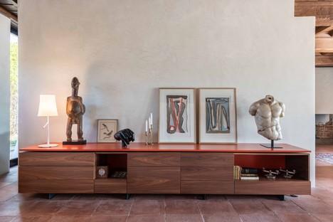 Pierattelli Architetture interior de antigua casa de campo en Toscana
