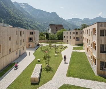 Feld72 complejo residencial Maierhof vivir en común con vistas a las montañas