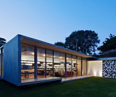 Kruchin Arquitetura una biblioteca para la Capobianco House en São Paulo