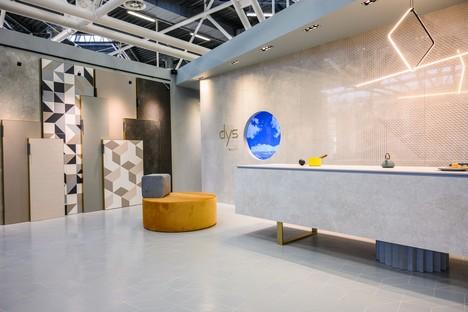 Las nuevas losas y los stands de Iris Ceramica Group en CERSAIE 2019