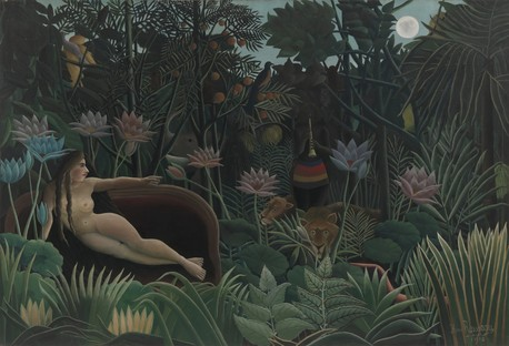 Henri Rousseau. The Dream. 1910. The Museum of Modern Art, New York.