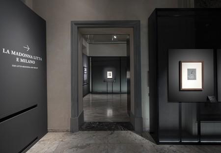 Migliore+Servetto architects instalación exposición Leonardo e la Madonna Litta Milán