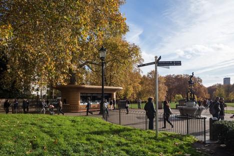 Mizzi Studio The Royal Parks Kiosks Londres