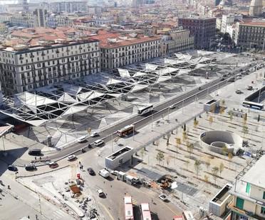 Dominique Perrault Architecture Inaugurada Piazza Garibaldi en Nápoles