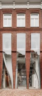 UNStudio The Looking Glass, la arquitectura de una fachada para la moda en Ámsterdam