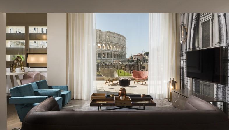 Loto Ad Project Giorgia Dennerlein Interior para Manfredi Fine Hotel Collection Roma