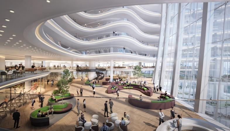 Zaha Hadid Architects firma la sede social de OPPO en Shenzhen