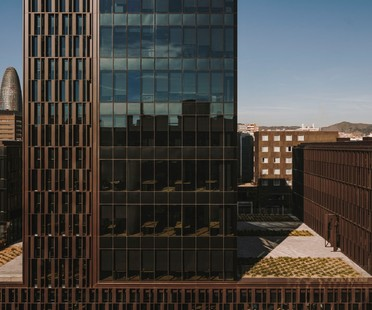 GCA Architects Platinum@BCN oficinas sostenibles en Barcelona