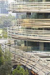 Kengo Kuma The Exchange un nuevo centro para Sídney