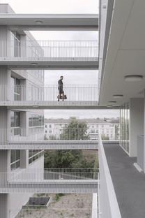 KAAN Architecten Edificio poliédrico en Bottière Chénaie Nantes