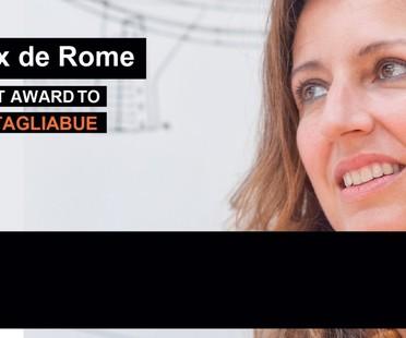 Piranesi Prix de Rome a la carrera a Benedetta Tagliabue estudio EMBT
