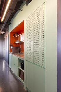 Superlimão Escola 42 interior para una escuela de informática en São Paulo (Brasil)